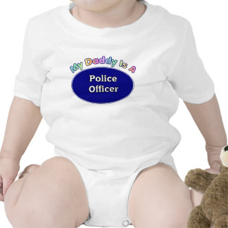 My Daddy Is A Police Officer Baby Gifts T-shirts