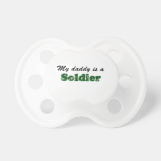 My daddy is a soldier dummy