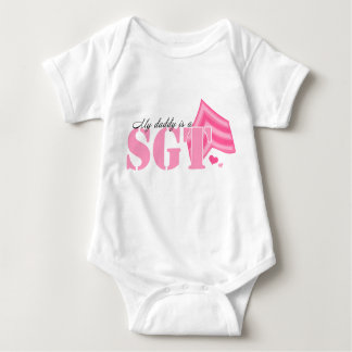 My Daddy is an SGT Baby Bodysuit