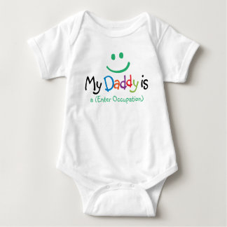 """""""My Daddy is..."""" Baby Clothes Baby Bodysuit"""