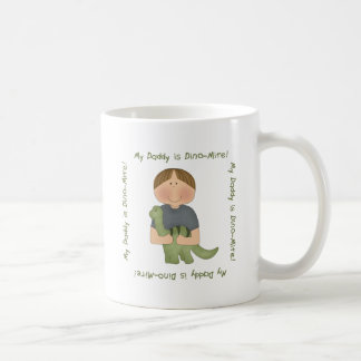 My Daddy is Dino-Mite! (blonde,brown & Asian) Coffee Mug