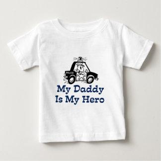 My Daddy Is My Hero Baby T-Shirt