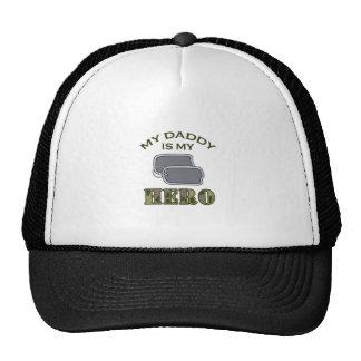 MY DADDY IS MY HERO TRUCKER HAT