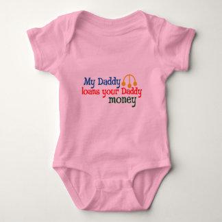 My Daddy Loans your Daddy Money Baby Bodysuit
