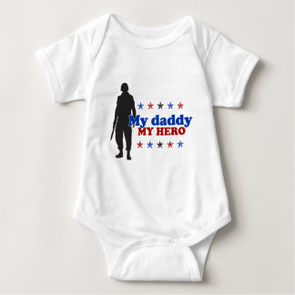 My Daddy, My Hero Baby Bodysuit
