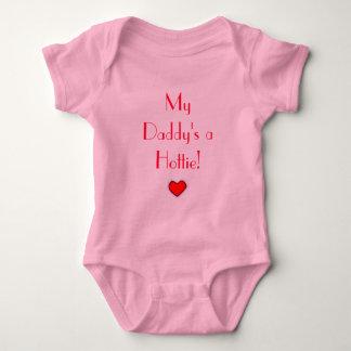 My Daddy's a Hottie! Baby Bodysuit