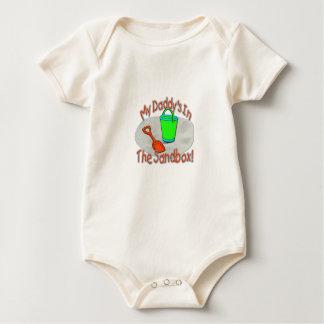 My Daddy's In The Sandbox! Baby Bodysuit