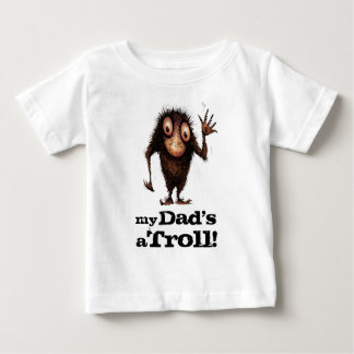 My Dad's a Troll - Funny Kid's Father's Day T-shirts