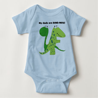 My Dads are DINO-MITE Baby Bodysuit
