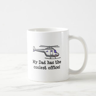 My Dad's Cool Helicopter Mugs