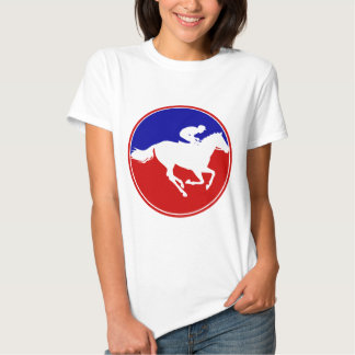 MY DADY IS A HORSE RACING T-SHIRTS