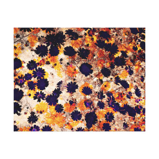 My Daisies Modern Abstract Design Canvas Print