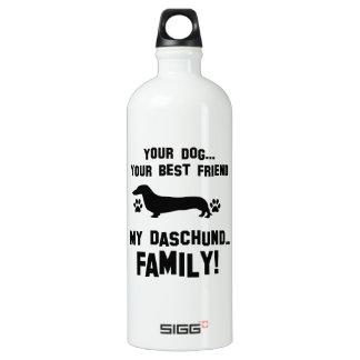 My daschund family, your dog just a best friend SIGG traveller 1.0L water bottle