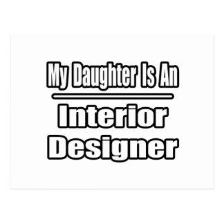 My Daughter Is An Interior Designer Postcard