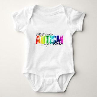 My Daughter My Hero - Autism Baby Bodysuit