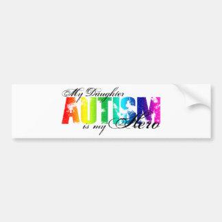 My Daughter My Hero - Autism Bumper Sticker