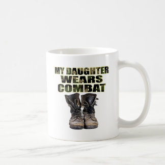 My Daughter Wears Combat Boots Coffee Mugs
