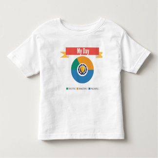 My Day Stats Toddler T-Shirt