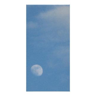 My Daytime Moon - Gloss Finish Photocard Personalised Photo Card