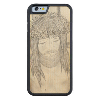 My Dear Lord Carved Maple iPhone 6 Bumper Case