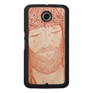 My Dear Lord IV Wood Phone Case