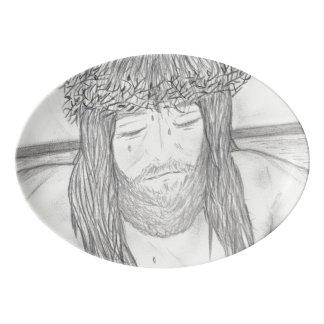 My Dear Lord Porcelain Serving Platter