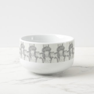 My Dear Lord Soup Bowl With Handle