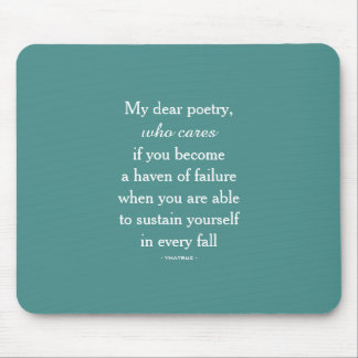 My Dear Poetry Mousepad