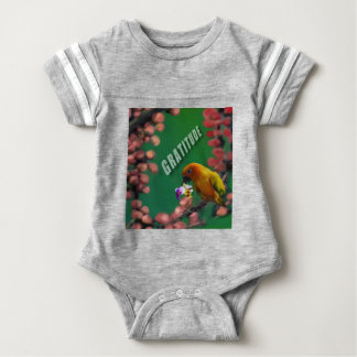 My deepest thanks to you. baby bodysuit