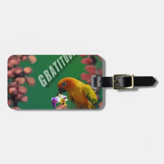 My deepest thanks to you. luggage tag