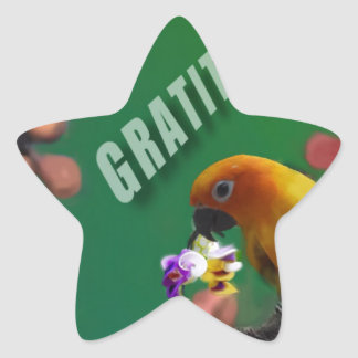 My deepest thanks to you. star sticker