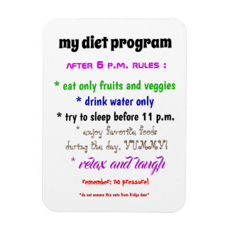 My Diet Program Magnet