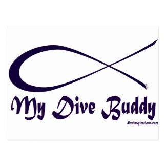 My Dive Buddy Postcard