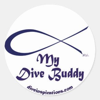My Dive Buddy Sticker