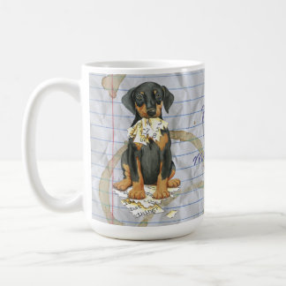 My Doberman Ate my Lesson Plan Coffee Mug