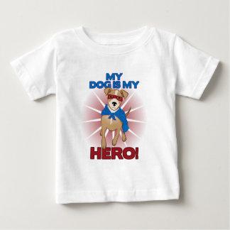 My Dog is My Hero Baby T-Shirt