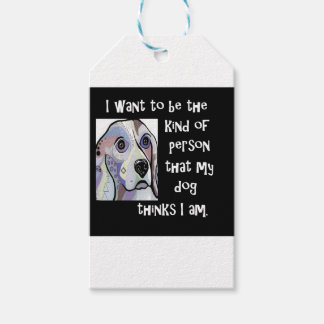 My Dog My Inspiration Gift Tags