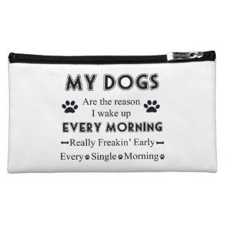 My Dogs Cosmetics Bags