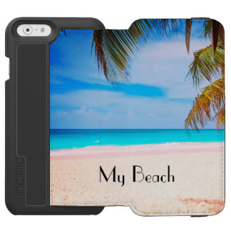 My Dream Beach, Tropical Beach View Incipio Watson™ iPhone 6 Wallet Case