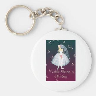 My dream wedding key chain