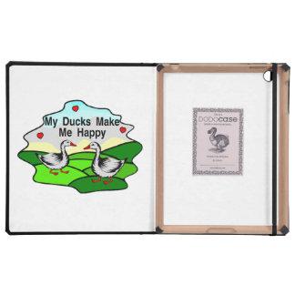My Ducks Make Me Happy iPad Cases