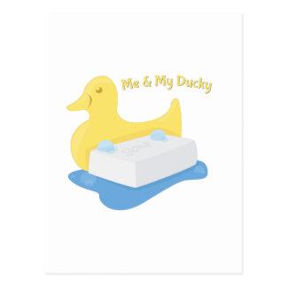 My Ducky Postcard