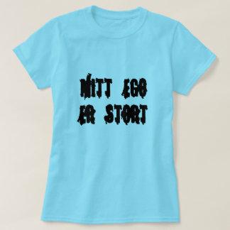 my ego is big, in Norwegian blue T-Shirt