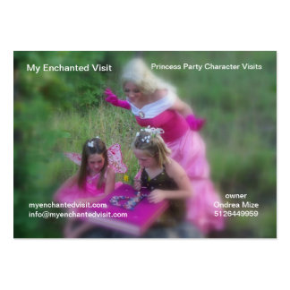 My Enchanted Visit Pack Of Chubby Business Cards