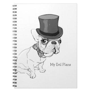 """My Evil Plans"" Notebook"