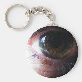 My Eye Basic Round Button Key Ring