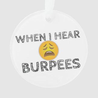 My Face When I Hear Burpees - Upset Emoji