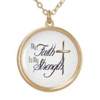 My Faith Gold Plated Necklace