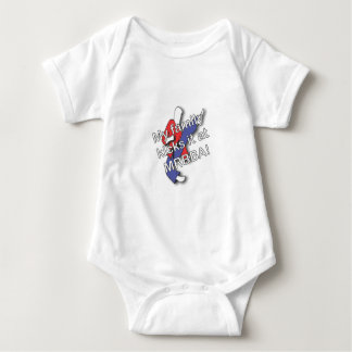 My Family Kicks It Baby Bodysuit