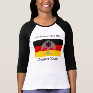 """My Family Tree Has German Roots"" t-shirt"